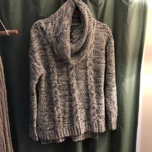 Betti Shawl Collar Pullover Sweater